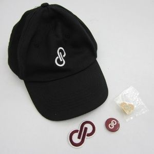 Poshmark Poshfest Posh Love Hat & Pin Bundle